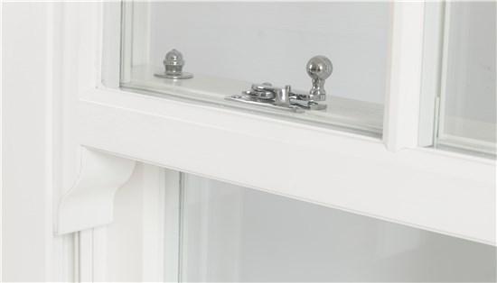Silver hook window fastening