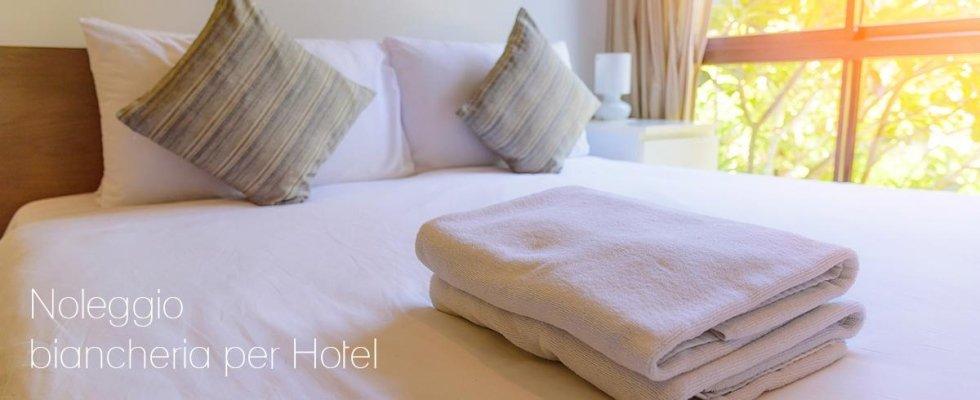 Noleggio biancheria per Hotel