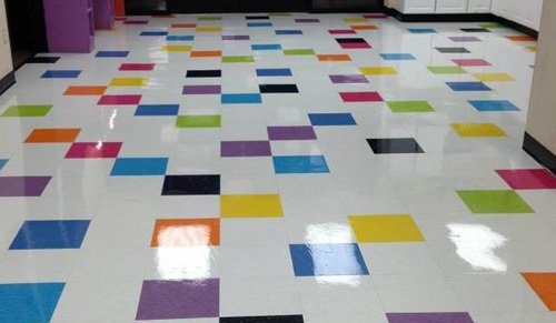Beautiful floor after recieving professional janitorial services in Burlington, KY