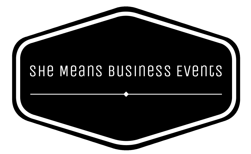 She Means Business Events logo