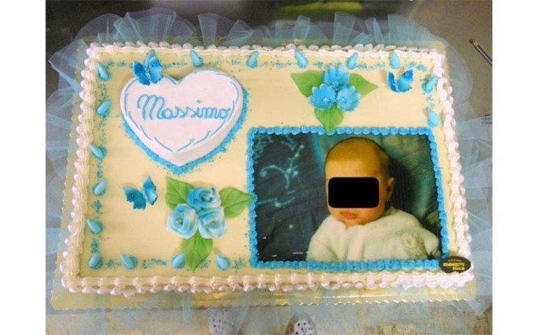 torta con fiocco