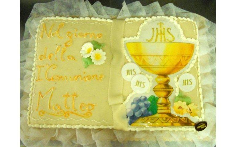torta comunione personalizzata