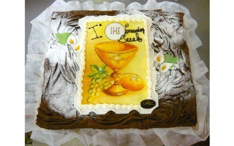 torta comunione limone