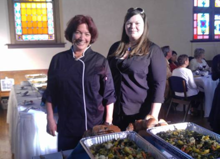 Caterers at a Corporate Event