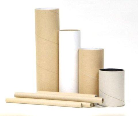 Fusti cilindrici di cartone