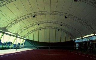 copertura per impianti sportivi indoor