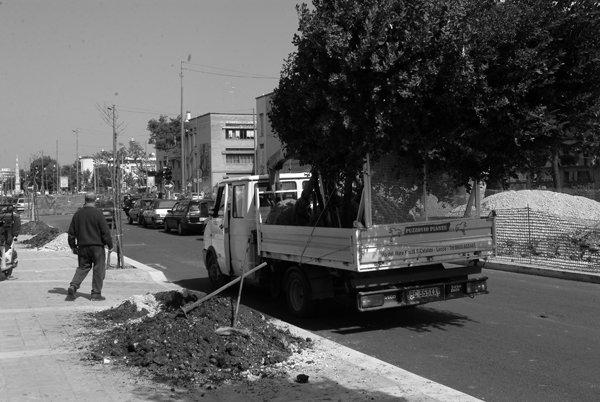 arredi urbani a Lecce