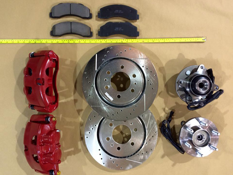 Quality brake discs available at 4x4 And More in Huddersfield