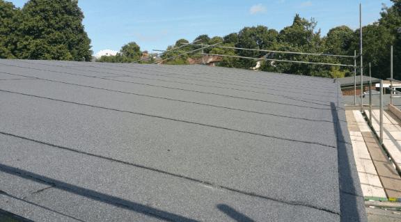 Felt roofs
