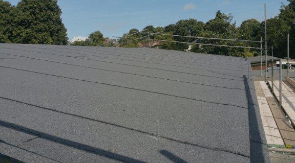 Felt roofing