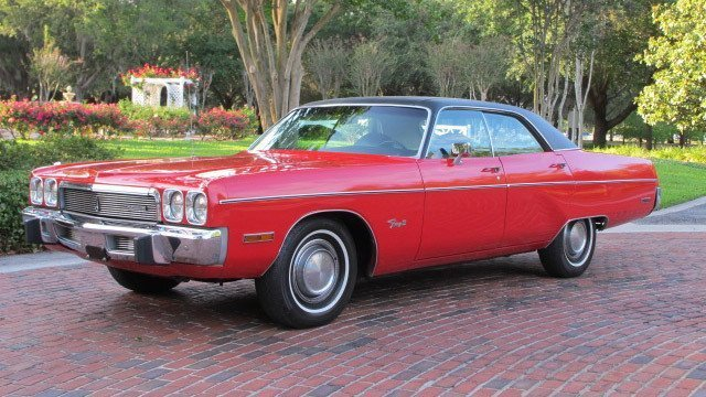 1973 Plymouth Fury III hardtop sedan by That Hartford Guy, used under CC BY-SA 2.0