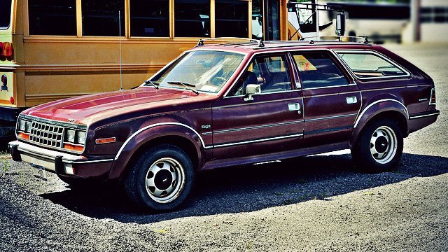 1986 AMC Eagle by Vetatur Fumare, used under CC BY-SA 2.0