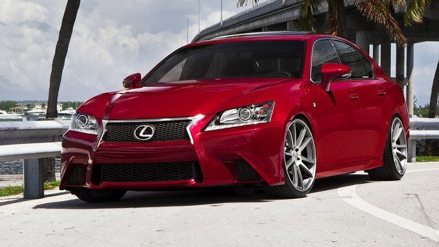 2013 Lexus GS F Sport Concavo Wheels by CONCAVO WHEELS, used under CC BY 2.0