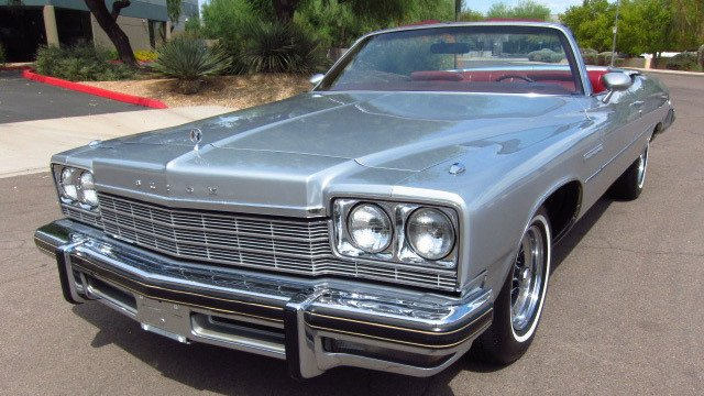 1975 Buick LeSabre convertible by Dave S, used under CC BY-SA 2.0