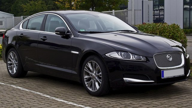 Jaguar XF 2.2 D (Facelift) by M 93, used under CC BY 2.0