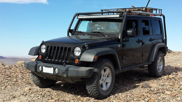 Jeep JK Rubicon Rack Field Test by Michael Dorausch, used under CC BY-SA 2.0