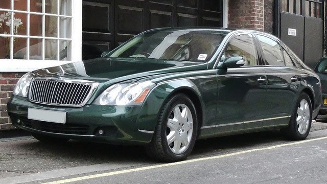 Maybach Green by Ben, used under CC BY-SA 2.0