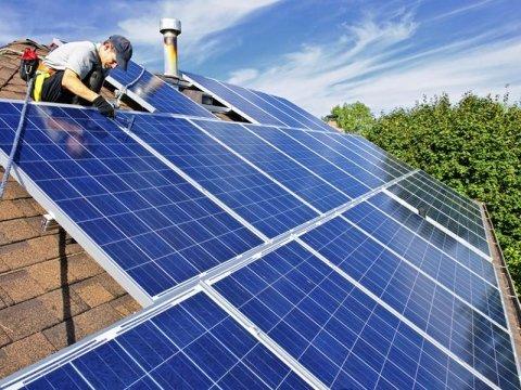 pulizia solare termico
