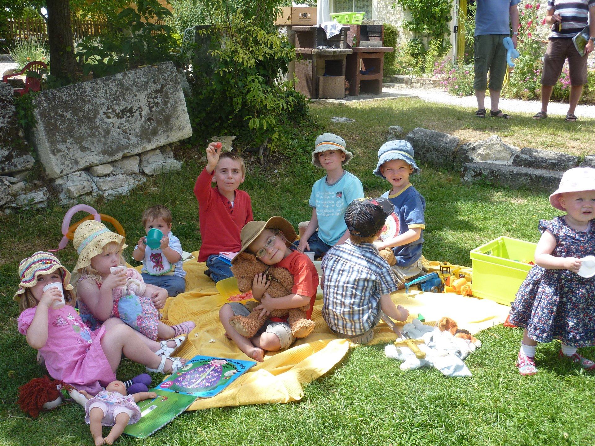 activity holiday France child friendly gites