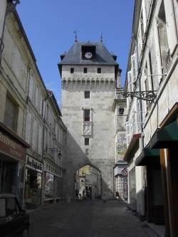 Clock Tower St Jean Dangely