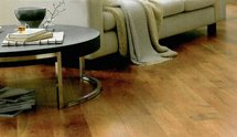 View of wooden flooring done with the help of planks