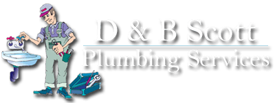 d and b scott plumbing services logo