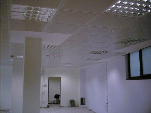 Radiante a soffitto in metallo