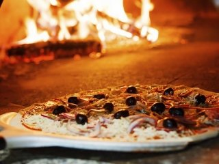 wide selection of pizzas