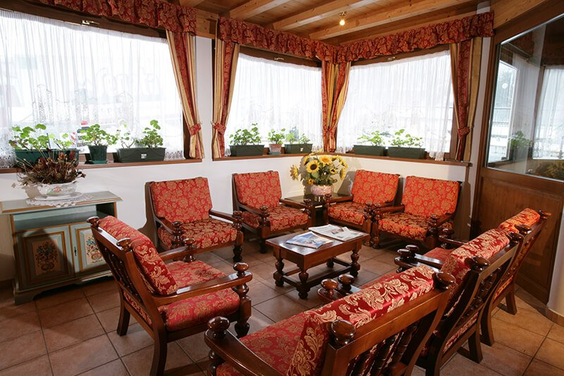 Internal view of Andalo Hotel in Andalo