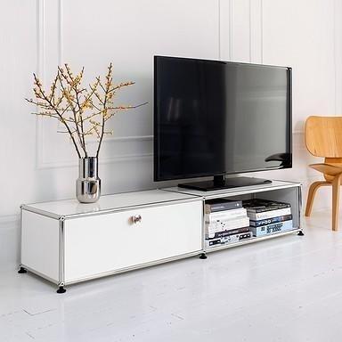 mobiletto televisione bianco
