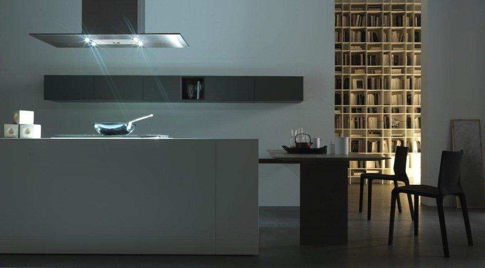 stile e la progettazione di questa cucina