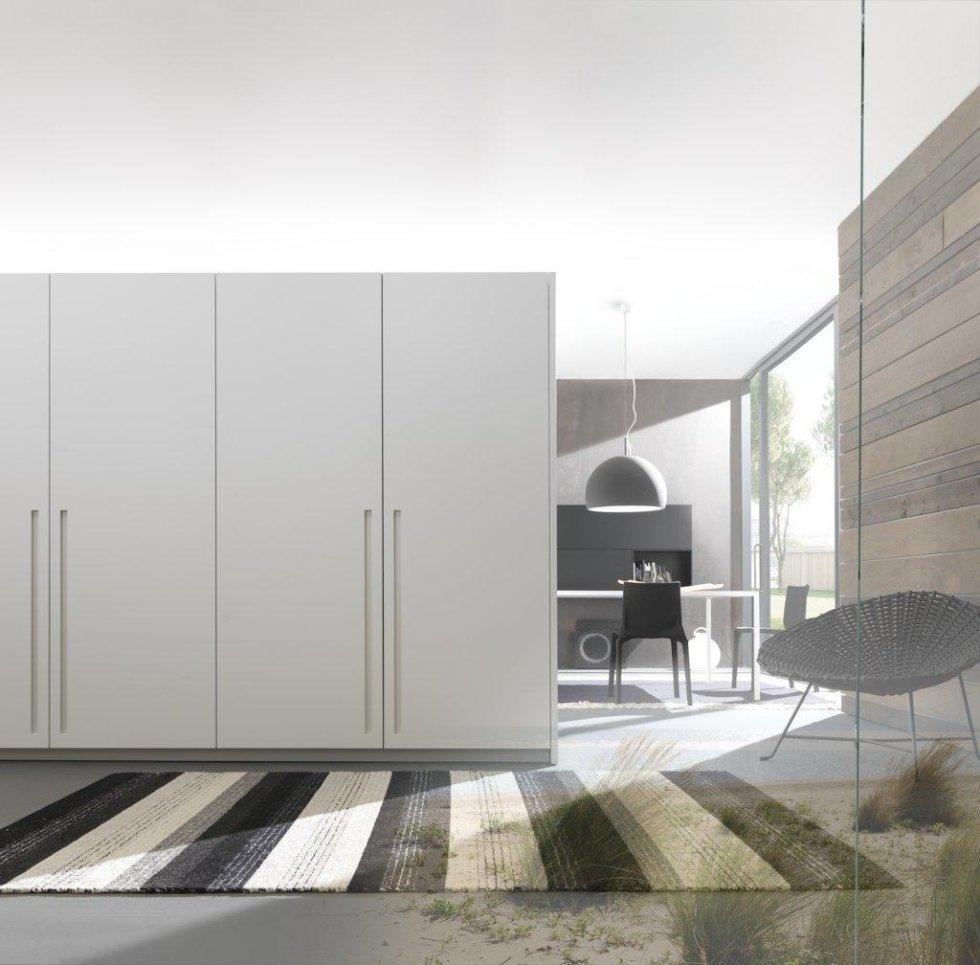 armadio di cucina moderna di Modulnova bianco
