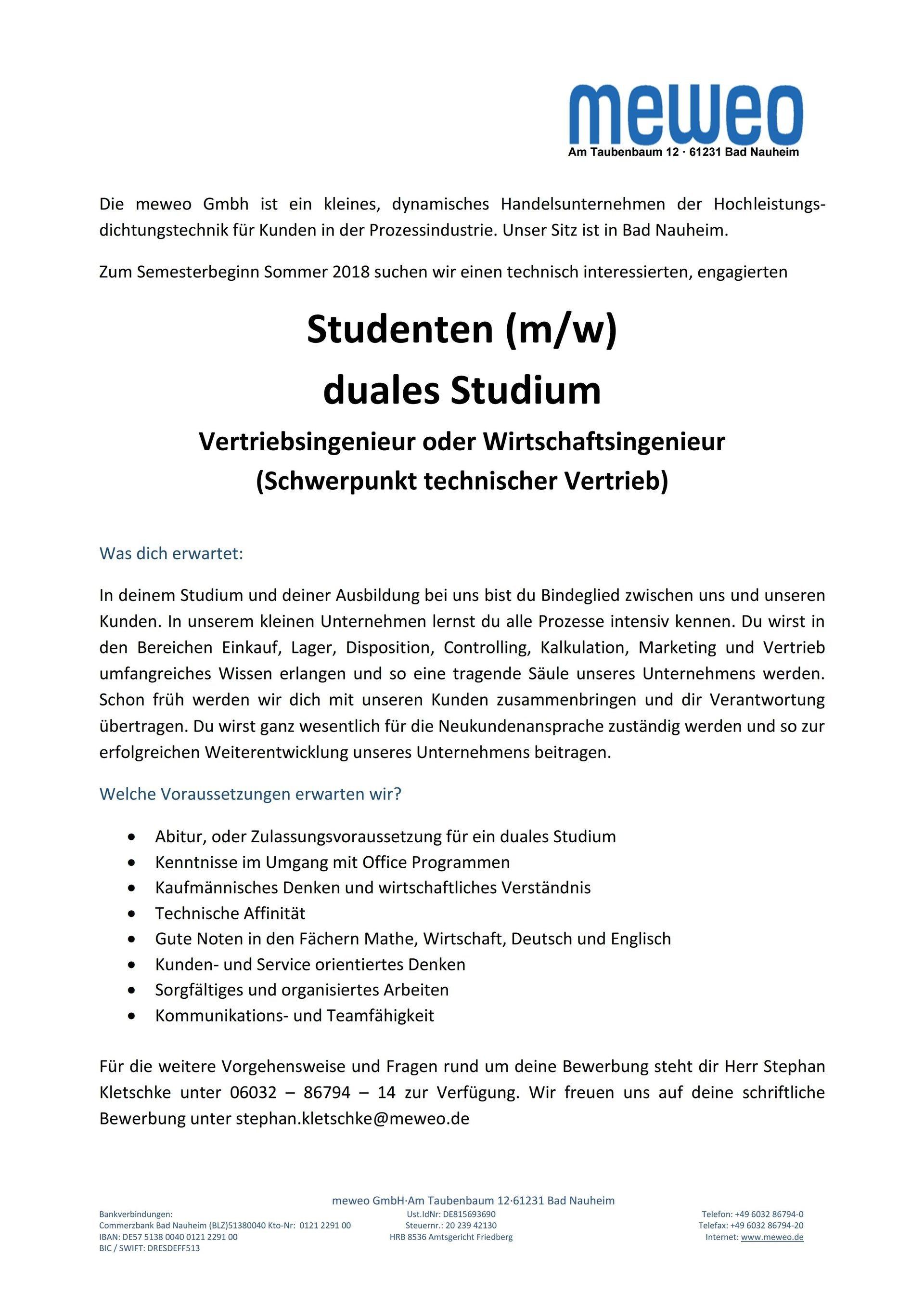 Charmant Bewerbungen Für Technische Studenten Bilder - Beispiel ...