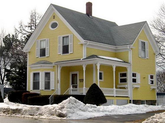 Exterior House Paint Color Combinations