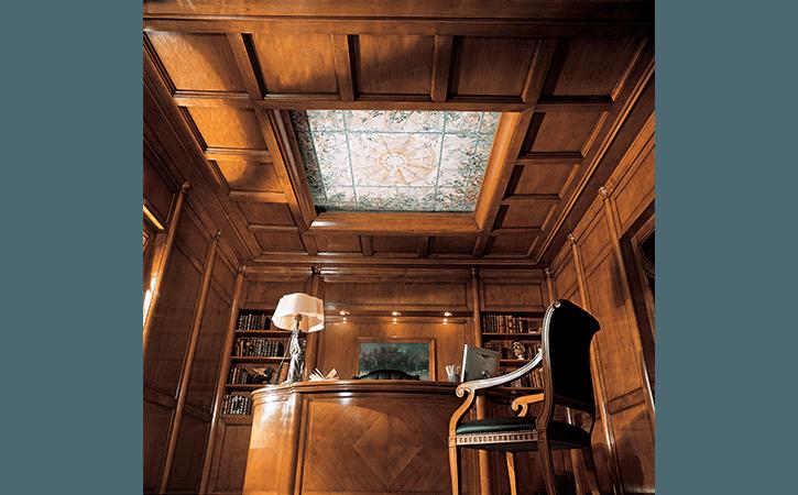 soffitto in legno