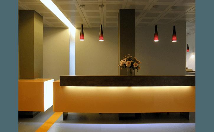 mobili reception hotel