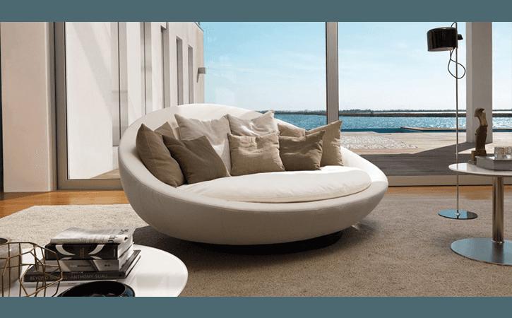 divano ovale