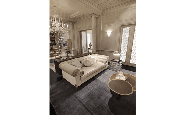 soggiorno stile classico