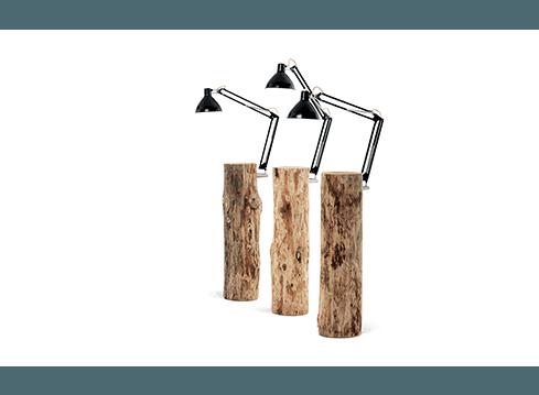 lampade con legno
