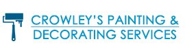 crowleys painting and decorating services logo