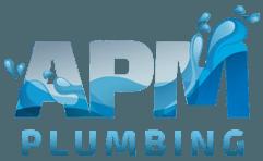 apm plumbing logo