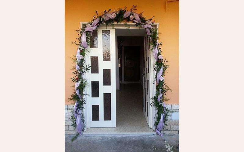 addobbo floreale casa