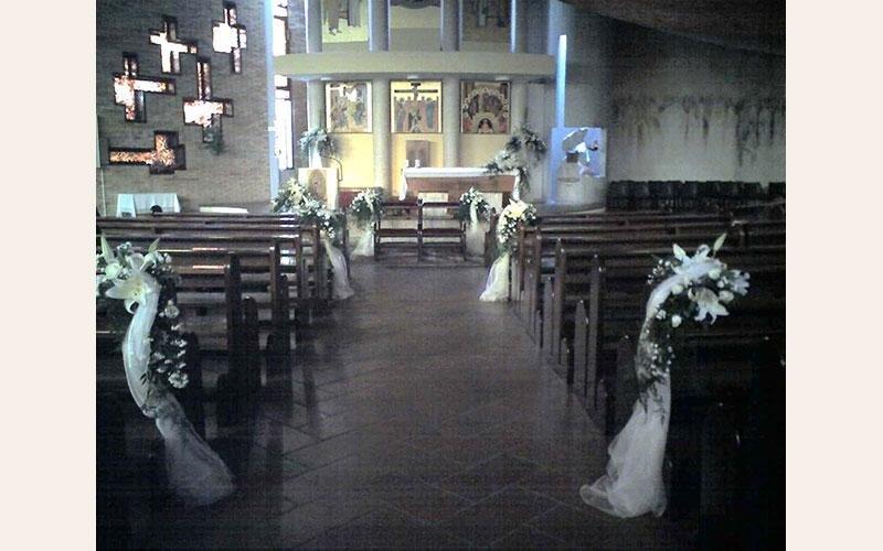 addobbo floreale chiesa