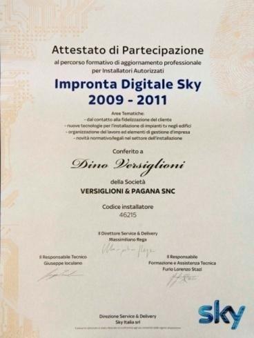Impronta Digitale Sky