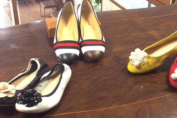 delle scarpe Ballerina