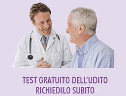 test gratuito dell'udito