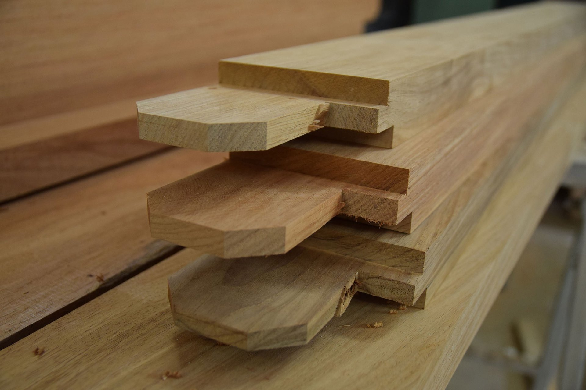 wood ready for use