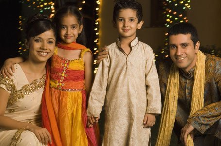An Indian family