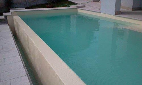 piscina rialzata