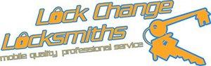 lock change locksmiths business logo